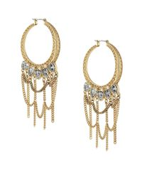 BCBGeneration | Metallic Goldtone Statement Earrings | Lyst