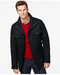 Michael Kors | Blue Michael Wool-blend Field Coat for Men | Lyst