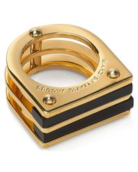 Marc By Marc Jacobs | Black Windows Ring | Lyst