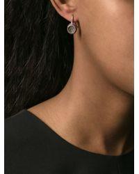 Rosa Maria - Metallic Pavé Earring - Lyst