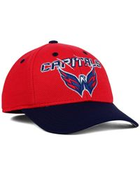 Reebok | Red Kids' Washington Capitals 2nd Season Flex Cap | Lyst