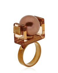 Caterina Zangrando | Brown Gae M Ring | Lyst