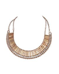 Ziba - Metallic Nayla Necklace - Lyst