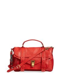 Proenza Schouler | Red 'Medium Ps1' Satchel | Lyst
