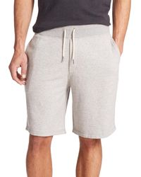 Rag & Bone | Gray Standard Issue Lightweight Loopback Sweatshorts for Men | Lyst