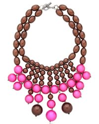 Lucia Odescalchi | Pink R.S.V.P Necklace | Lyst