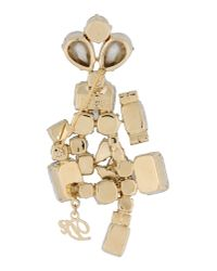 DSquared² | Metallic Brooch | Lyst