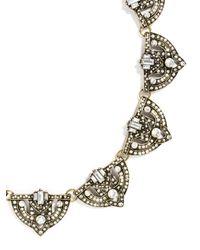 BaubleBar - Metallic Crystal Zelda Collar - Lyst