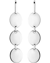 Links of London - White Grace Sterling Silver Earrings - Lyst