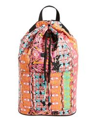 Volcom - Orange 'jamon Jamon' Print Backpack - Coral - Lyst