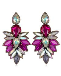 Suzanna Dai | Purple Cuzco Drop Earrings, Fuchsia | Lyst