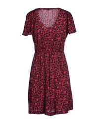French Connection - Multicolor Short Dress - Lyst