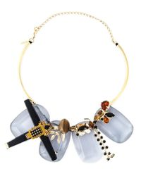 Marni | Metallic Embellished Necklace | Lyst