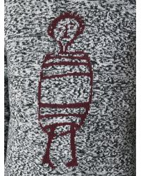 Carven - Black 'Little Chap' Sweater for Men - Lyst
