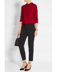 Marc Jacobs | - Wool And Cashmere-blend Sweater - Red | Lyst