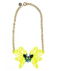 Matthew Williamson | Metallic Leo Pendant Necklace | Lyst