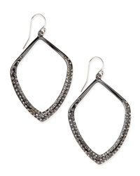 Alexis Bittar - Black Miss Havisham Orbit Wire Earrings - Lyst