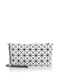 Bao Bao Issey Miyake | White Prism Basic Faux Patent Leather Shoulder Bag | Lyst