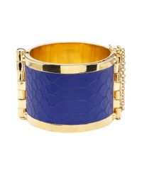 CC SKYE | Blue Riviera Cuff | Lyst