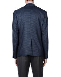 Mauro Grifoni - Blue Blazer for Men - Lyst