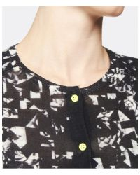 Paul by Paul Smith - Black Floral Cardigan - Lyst