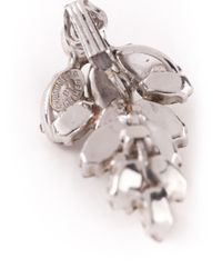 Dior - Metallic Crystal Glamour Earrings - Lyst
