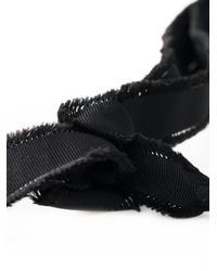 N°21 - Black Beaded Fringe Necklace - Lyst