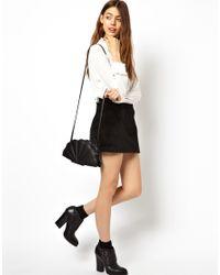 ASOS | Black Shell Cross Body Bag | Lyst