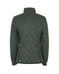 Ralph Lauren Blue Label - Green Diamondquilted Motto Jacket - Lyst