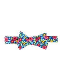 Neiman Marcus | Multicolor Floral Bow Tie for Men | Lyst