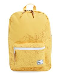 Herschel Supply Co. | Yellow 'settlement - Winnie The Pooh' Backpack | Lyst