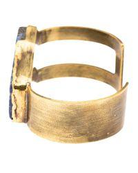 Beth Orduna | Metallic Stone Cuff | Lyst