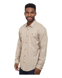 Patagonia - Natural L/s Pima Cotton Shirt for Men - Lyst