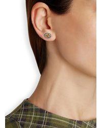 Vivienne Westwood - Metallic Two-Tone Orb Stud Earrings - Lyst