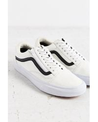 Vans - Black Leather Old School Zip Sneaker - Lyst