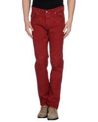 Jeckerson - Red Casual Trouser for Men - Lyst