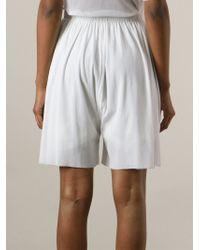 Phoebe English   White Simple Boxer Shorts   Lyst