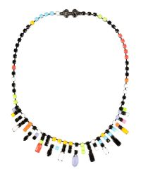 Tom Binns - Black Necklace - Lyst