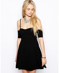 For Love & Lemons - Black For Love Lemons All Night Dress - Lyst
