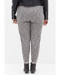 Forever 21 - Gray Street-chic Marled Sweatpants - Lyst