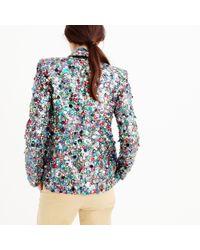 J.Crew - Multicolor Collection Sequin Blazer - Lyst