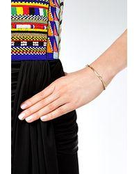 Aurelie Bidermann | Metallic Aurélie Bidermann Gold Rosebud Bracelet - Gold | Lyst