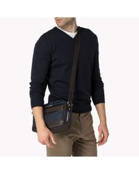 Tommy Hilfiger | Blue Olivier Messenger for Men | Lyst