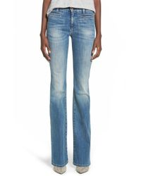 M.i.h Jeans | Blue 'marrakesh' Flare Jeans | Lyst