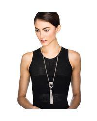 Lulu Frost - Metallic Lucent Tassel Necklace - Lyst