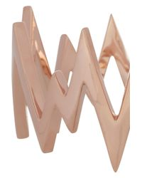Jennifer Fisher | Pink Pulse Rose Gold-Plated Cuff | Lyst