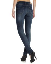 Blend She - Blue Bright Fally Slim Jeans - Lyst