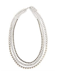 Max Mara | Metallic Saletta Necklace | Lyst