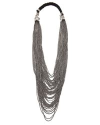 Emanuele Bicocchi | Metallic Mesh Star Necklace | Lyst