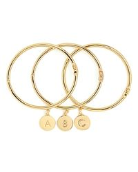 kate spade new york - Metallic One in A Million Initial Bangle - Lyst